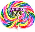 Jumbo 24 oz Rainbow Swirl Whirly Pop - 23 Inches