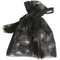 Black Mesh Favor Bags - 12CT Bag