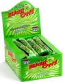 Blast Off! Extreme Sour Bubble Gum Rope - Green Apple - 48CT Box