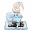 Baby Boy Picture Frame & Carriage Gift