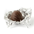 Dark Silver Foiled Cappuccino Chocolate Truffles