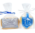 12 Giant Hand Decorated Chanukah Cookies in a Gift Box