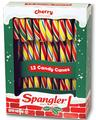 Multicolor Cherry Candy Canes - 12CT Box
