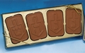 Hanukkah Milk Chocolate Dreidel Gift Box