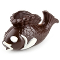 Hand Crafted Chocolate Fish Dish
