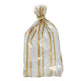 Gold & Silver Striped Bags