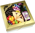 Purim Basket Gold Lustre - Top Rated Purim Gift Basket