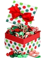 Christmas Jovial Dot Candy Gift Box