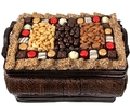 Holiday Gourmet Signature Wicker Basket - Lg