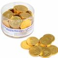 Nut-Free Milk Chocolate Coins - 70CT Tub