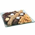 Square Mint Glass Gift Tray