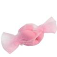 Baby Pink Candy Shaped Organza Bags - 12CT Bag