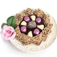Luscious Lace Chocolate Gift Plate