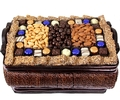 Hanukkah Gourmet Signature Wicker Basket - Lg