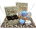 Baby Boy Leopard Gift Box Arrangement - Israel Only