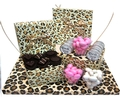 Baby Girl Leopard Gift Box Arrangement - Israel Only