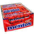Mentos Strawberry Candy Rolls - 40CT Case