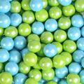 Powder Blue & Lime Green Shimmer Sixlets