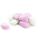 Super Fine Pink & White Jordan Almonds