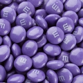 Purple M&M's Chocolate Candies