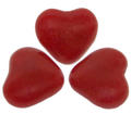 Red Cinnamon Valentine Candy Hearts