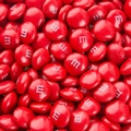 Red M&M's Chocolate Candy