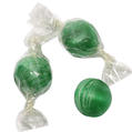 Green Hard Candy Balls - Spearmint