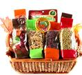Thanksgiving Wicker Gift Basket