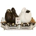 Double Swan Silver Tray