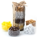 Purim Shalach Manos Sweet & Salty Snack Stand - Large Gift Basket