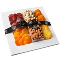 Natural Beauty - Purim Natural Sugar Free Selection Gift Tray Shalach Manos