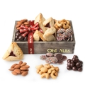 Purim Shalach Manos Signature Wooden Gift Tray - Petite