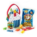Purim Kids Cupcake Carrier Gift Shalach Manos - 8 Pack