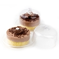 Passover Desserts Miniature Chocolate Mousse Cake - 6CT
