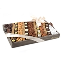 Large Nuts & Chocolate Line-Up Gift Basket