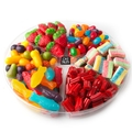 6 Section Candy Gift Basket - 1 LB Platter
