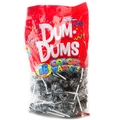 Black Dum Dum Pops - Black Cherry - 75CT