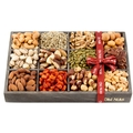 Valentines Day Gift Baskets, Mixed Nuts and Seeds Gift Baskets and Seeds Holiday Gift Tray 12 Variety Gift Baskets, Freshly Roasted Mixed Snack Healthy Gift Box for Man or Woman - Oh! Nuts
