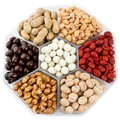 Holiday Nuts Gift Basket | Christmas Gourmet Food Peanuts Variety Assortment | Send a Prime Tray for Man, Woman & Families for Thanksgiving, Birthday & Get Well Care Package - Oh! Nuts