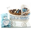 Mirror Tray Baby Boy carriage Gift Basket