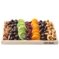 Dried Fruit, Chocolate & Nuts Wooden Gift Basket