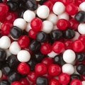 Red, Black & White Sour Balls