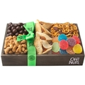 DELUXE - Purim Small Wooden Gift Tray Mishloach Manos