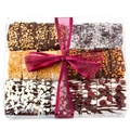 Handmade Chocolate Biscotti Gift Box - 6 Variety / 24CT