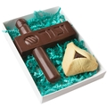 Purim Chocolate Gragger & Hamantash Gift Box