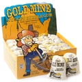 Gold Rocks Nugget Bubble Gum Sacks - 24CT Box