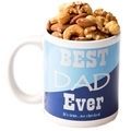 Father's Day Mug With Roasted Salted Nut Mix