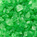 Green Rock Candy Gems - Apple