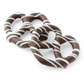 Stringed Belgian Chocolate Covered Pretzels - 10CT Box