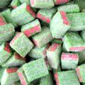 Watermelon Licorice Sour Gummy Cubes